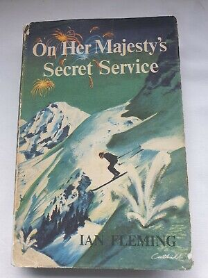 £14.99 • Buy Ian Fleming ON HER MAJESTY'S SECRET SERVICE, First Edition 1963, Book Club Ed.