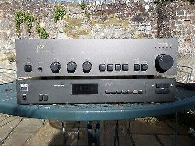 £150 • Buy NAD 3020 Amplifier And 4220 Tuner Working But Work Has Been Done.