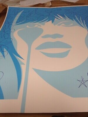 £950 • Buy PURE EVIL - ROGER VADIM's NIGHTMARE (BABY BLUE) - LIMITED EDITION PRINT