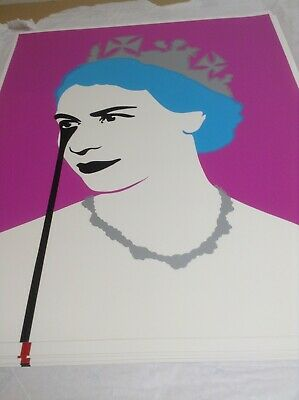 £550 • Buy PURE EVIL - PRINCE PHILLIP's NIGHTMARE (PINK) - LIMITED EDITION PRINT