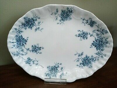 £18 • Buy Burgess And Leigh, Burleigh, Middleport Pottery 'May' 36cm / 14  Serving Platter