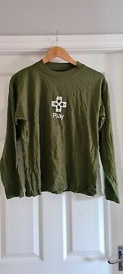 £4.49 • Buy Official PlayStation2 Mens 'Small' Merchandise Long Sleeve T-Shirt