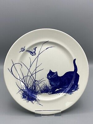 £14.95 • Buy POOLE POTTERY NATIONAL TRUST KINGSTON LACY CAT PLATE 25.5cm DIA