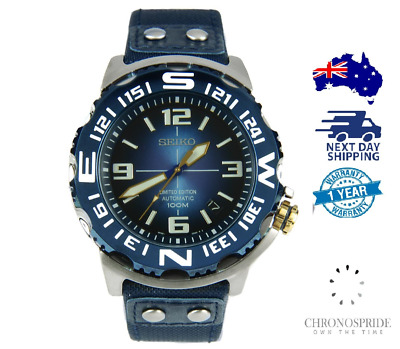 $ CDN633.58 • Buy SEIKO Superior Field Monster SRP451 Automatic Blue Limited Mens Watch