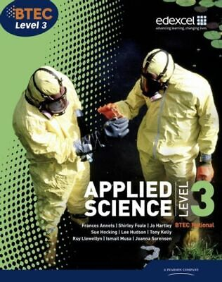 £60.36 • Buy Btec Level 3 National Applied Science Student Book Mint Annets Frances Pearson E