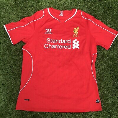 £13.99 • Buy Liverpool 2014 / 2015 Football Shirt Warrior Home Red Size Large Adult Mens