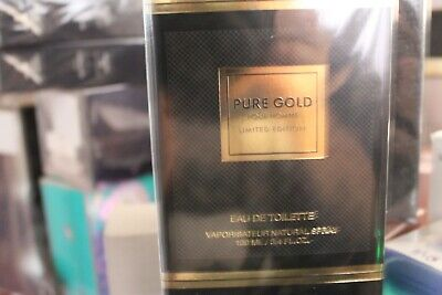 £11.99 • Buy Pure Gold Pour Homme Limited Edition B/n Sealed 100ml E.d.t