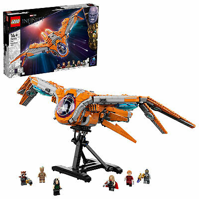 £129.99 • Buy 76193 LEGO Marvel Infinity Saga The Guardians' Ship 1901 Pieces Age 8 Years+