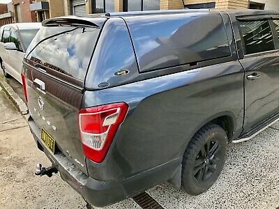 AU4000 • Buy FORCE PRO PLUS Canopy For SsangYong Musso XLV (Long Tub) 2018+ Marble Grey #ACM