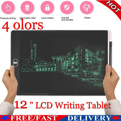 AU16.13 • Buy 12  Electronic Digital LCD Writing Pad Tablet For Kids Board Drawing Graphics