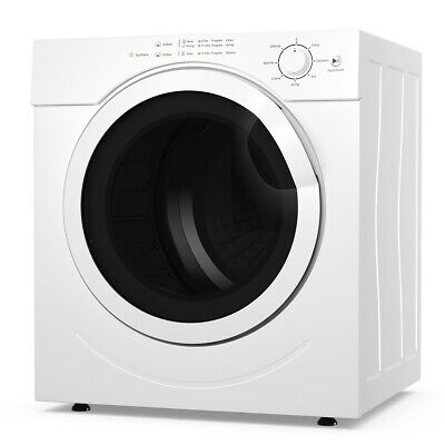 View Details 3.0 Cu. Ft. Electric Tumble Compact Laundry Dryer Stainless Steel For Home Dorm • 359.49$