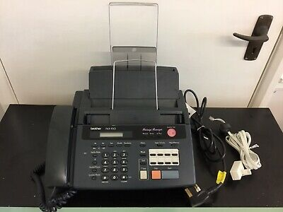 £35 • Buy Brother Fax-930 Telephone/Fax/Answer Machine