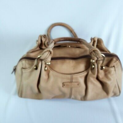 $ CDN16.64 • Buy Gianni Conti Vintage Soft Leather Natural Squashy Small Lined Shoulder Bag.