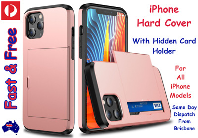 AU8.80 • Buy Wallet Card Holder Case Cover For APPLE IPhone, 12 11 X XS Max XR 11 Pro 8 7 6