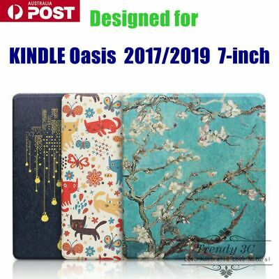 AU18.99 • Buy For Kindle Oasis 2017 / 2019 7-inch TPU Pattern Creative Flip Pattern Case Cover