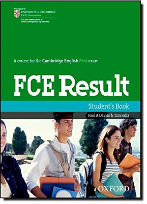 £3.79 • Buy Revised FCE Result: Student's Book, Very Good Condition Book, Falla, Tim, Davies