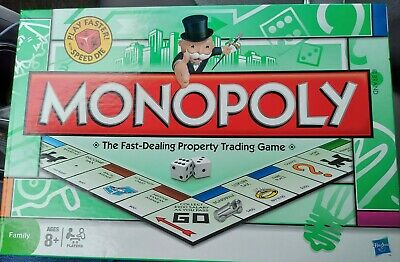 £15.74 • Buy Monopoly Board Game Classic Play Faster 2008 Complete