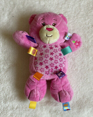 £19.99 • Buy Taggies Pink Teddy Bear, Baby Comforter Toy