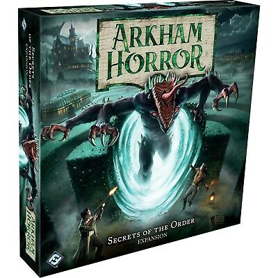 £39.99 • Buy Arkham Horror Third Edition Secrets Of The Order Expansion New