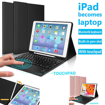 AU56.99 • Buy Keyboard With Touchpad Case Cover For IPad 5th 6th 7th 8th Gen Air Pro 10.5  11
