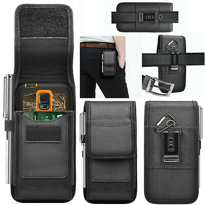 £4.75 • Buy Universal Nylon Holster Pouch Case With Belt Clip For IPhone 13 12 11 Pro Max XS
