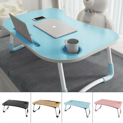 £8.96 • Buy  Portable Lap Desk Notebook Breakfast Tray Cup Slot Holder Laptop Bed Tray Table