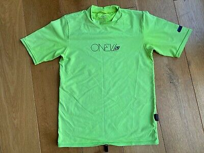 £1.99 • Buy O'Neill Boy Girl Swimming Top UV Protection, Size 6, Age 6-8, Short Sleeved Skin