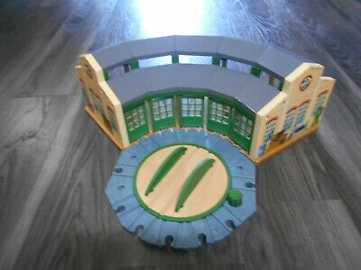 £50 • Buy Wooden Thomas The Tank Engine Train Set Tidmouth Sheds And Turntable