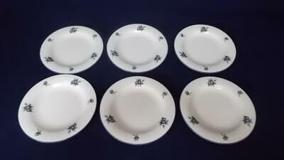 £30 • Buy Royal Doulton Blueberry 6 1/4  Side Plates X 6 Excellent