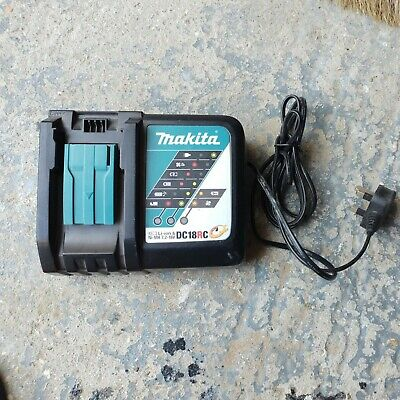 £21 • Buy MAKITA Genuine 9 Amp  DC18RC 7.2-18 Volt Fast Battery Charger With Cooling Fan