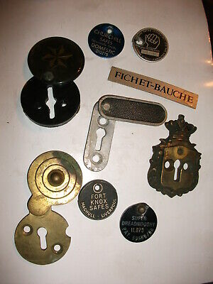 £20 • Buy Safe Escutcheons, Old Decorative Collectable, Locksmith, Safe Engineer
