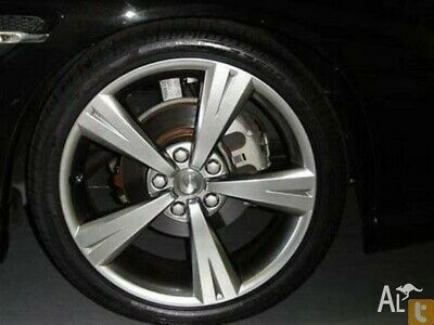 AU1499 • Buy Holden Commodore VX GTS Style Wheels And Tyres 19X8 Shadow Chrome