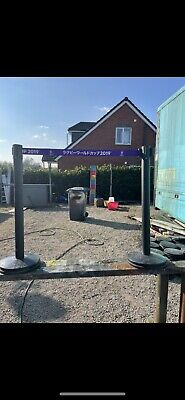 £20 • Buy Crowd Queue Control Safety Barrier Retractable Posts Top Quality X2