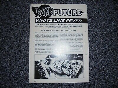 £5 • Buy Dark Future Board Game White Dwarf Expansion White Line Fever Preview Article