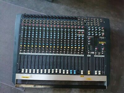 £75 • Buy Allen And Heath PA20 Mixer With FX Effects DJ Equipment