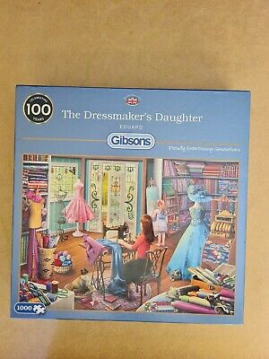 £4.50 • Buy 1000 Piece JIGSAW PUZZLE  Gibsons    The Dress Makers Daughter By Eduard