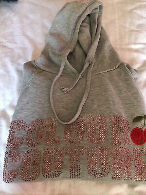 £6 • Buy Colour Culture Large Grey Hoodie
