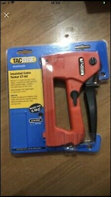£20 • Buy Tacwise Insulated Cable Tacker CT-60 Packet Opened Unused No Staples