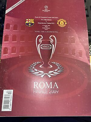 £4.99 • Buy Manchester United V Barcelona 2009 Champions League Cup Final Pirate Edition