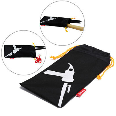 AU10.30 • Buy 36 X 16cm Tent Pegs Bag Camping Tent Hammer Wind Rope Tent Nail Storage Pouch RE