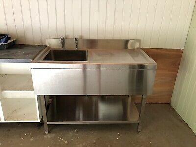 £250 • Buy Commercial Stainless Steel Sink,freestanding.