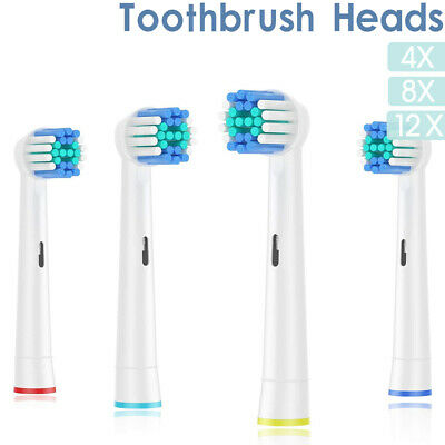 AU3.99 • Buy Electric Toothbrush Heads For Oral B Compatible Replacement Precision Deep Clean