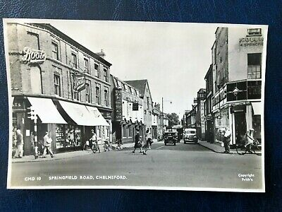 £0.99 • Buy Original Picture Postcard Of Springfield Road, Chelmsford Please See Scans 1652