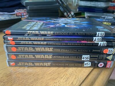 £10 • Buy STAR WARS Series 1-6 Complete Collection Trilogies DVD