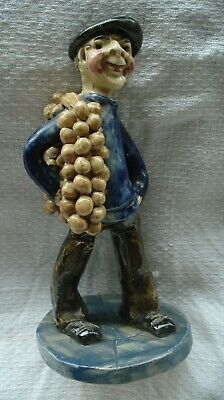 £26 • Buy Will Young Runnaford Pottery Figure 'The Onion Seller' Vintage Devon