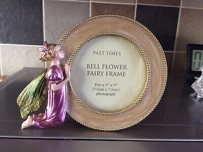 """£1.99 • Buy Past Times Bell Flower Fairy Deign Photo Frame For 3""""x3"""" Photo, Never Used."""