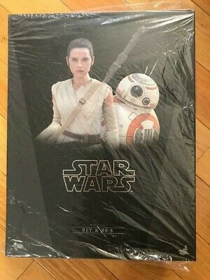 $ CDN513.85 • Buy NEW Hot Toys MMS337 Star Wars EP VII The Force Awakens 1/6 Rey And BB-8 Set