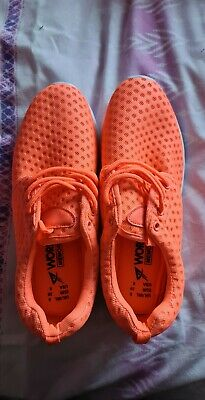 £4.93 • Buy PRIMARK WORK OUT NEON Orange Trainers Size 6 Brand New Without Tags