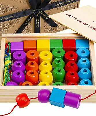 £27.98 • Buy Wooden Toys   Perfect Learning Toys For 2+ Years Old   Toddler Activities Toys