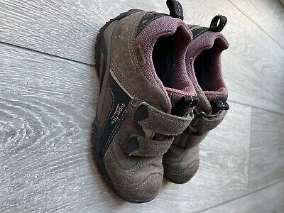 £6.50 • Buy Boys Waterproof Leather Trainers Size 29, UK Size 11, Super Fit Gore-tex